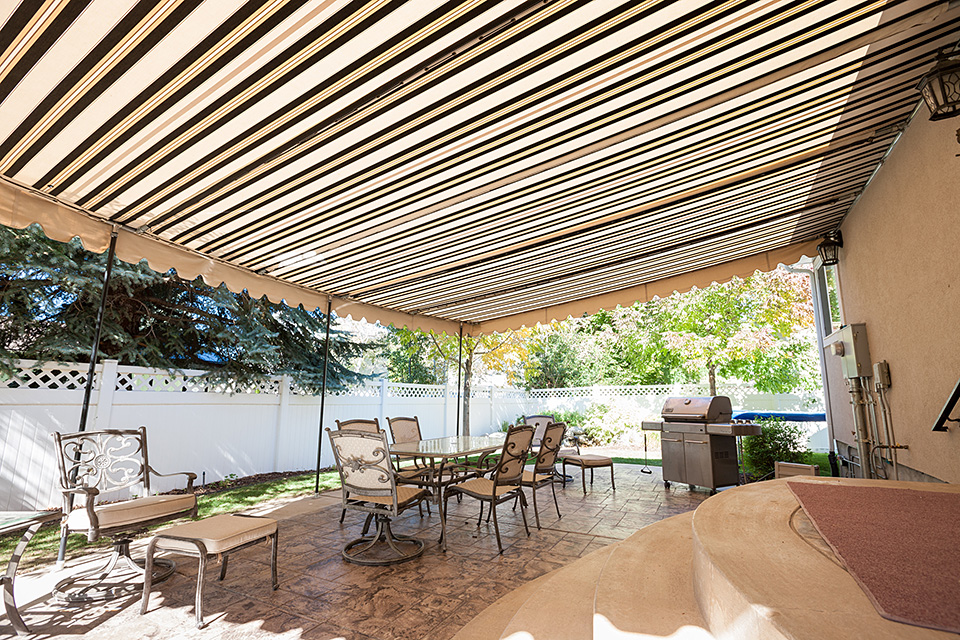 Pipe Frame Patio Canopies