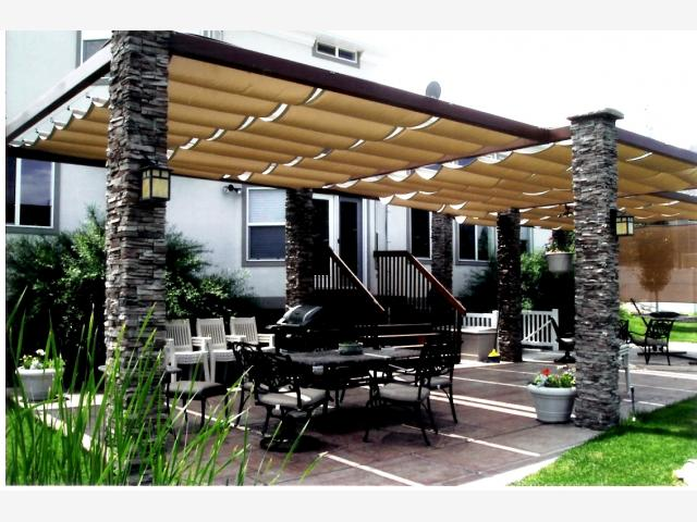 Sugar House Awnings Slide Wire Canopies