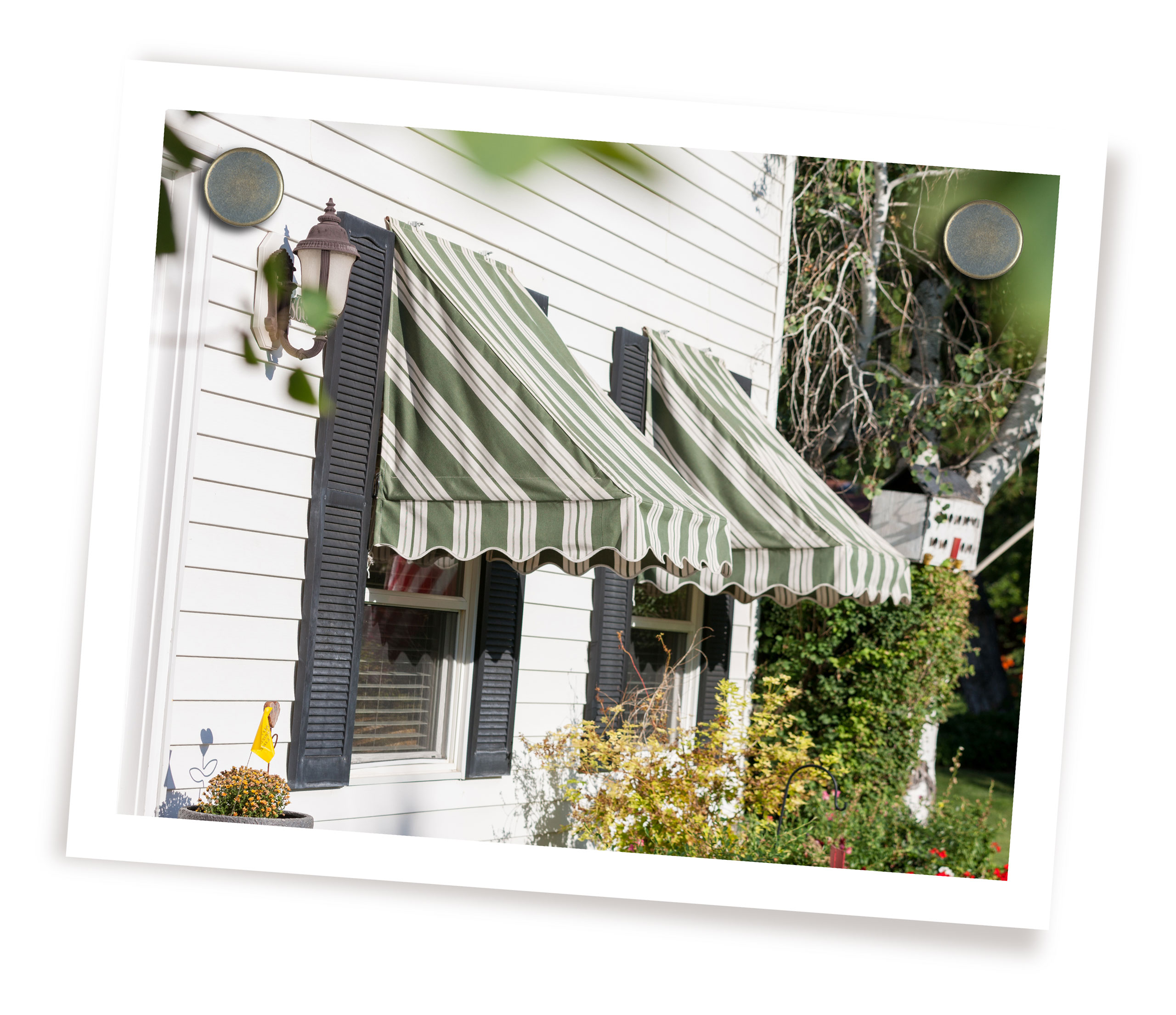 Rope Operated Window Awnings