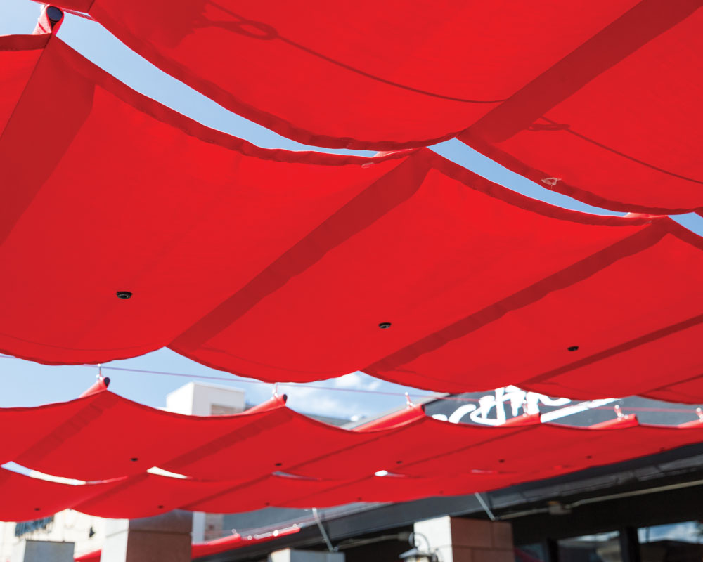 Slide Wire Cable Canopies Sugarhouse Industries