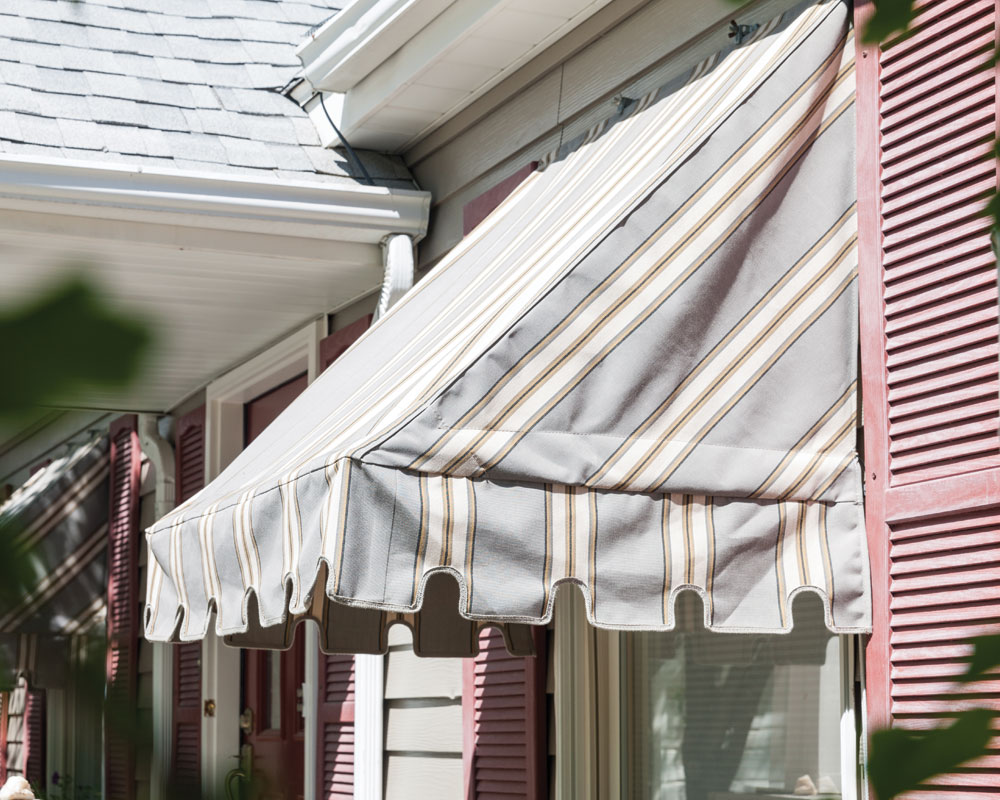 Rope Operated Window Awnings Sugarhouse Awning