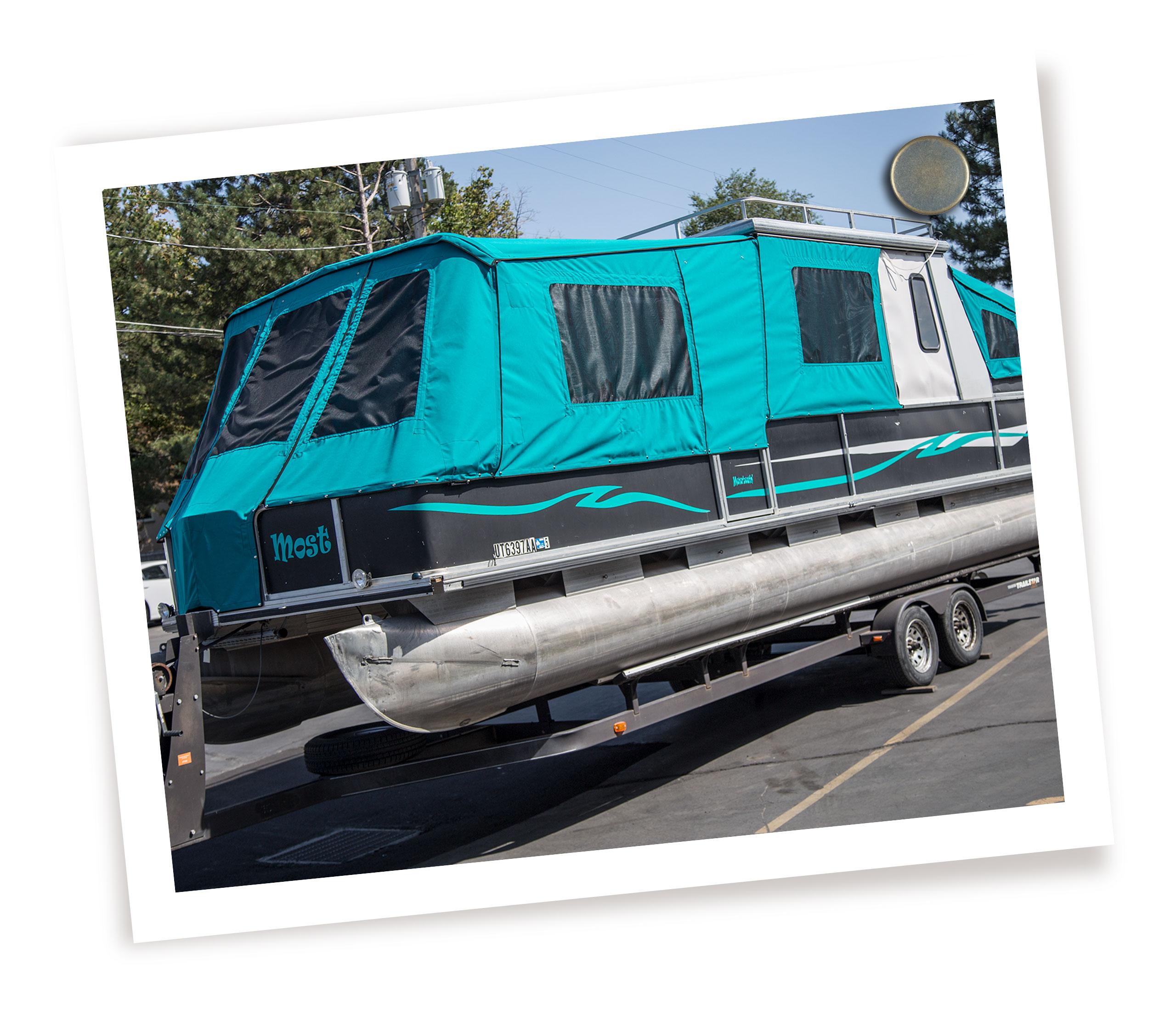 Pontoon Boat Covers - SugarHouse Awning